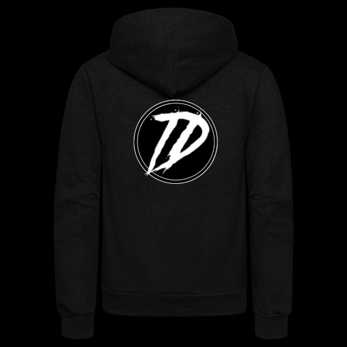 Team DEBUG Logo - Unisex Fleece Zip Hoodie