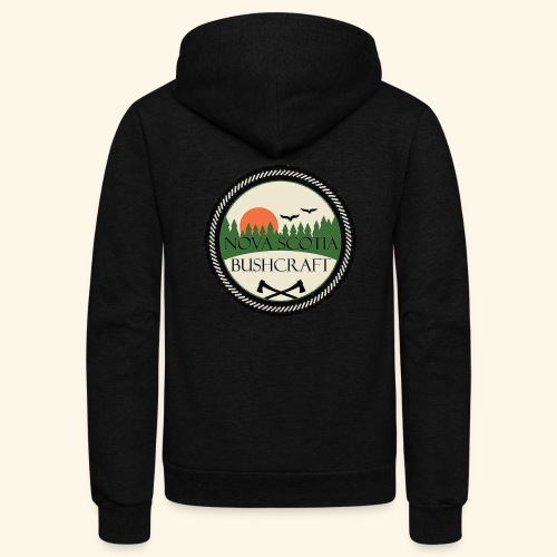 Nova Scotia Bushcraft - Unisex Fleece Zip Hoodie