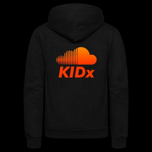 SOUNDCLOUD RAPPER KIDx - Unisex Fleece Zip Hoodie