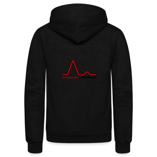 New Logo (With Name) - Unisex Fleece Zip Hoodie