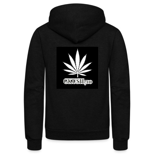 Weed Leaf Gkush710 Hoodies - Unisex Fleece Zip Hoodie