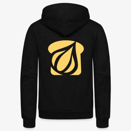 Garlic Toast - Unisex Fleece Zip Hoodie