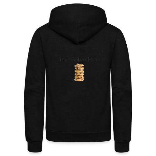Dip Cookies Here mug - Unisex Fleece Zip Hoodie