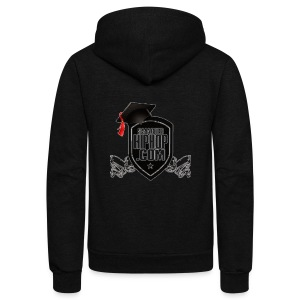 Official Smarterhiphop Merch - Unisex Fleece Zip Hoodie by American Apparel
