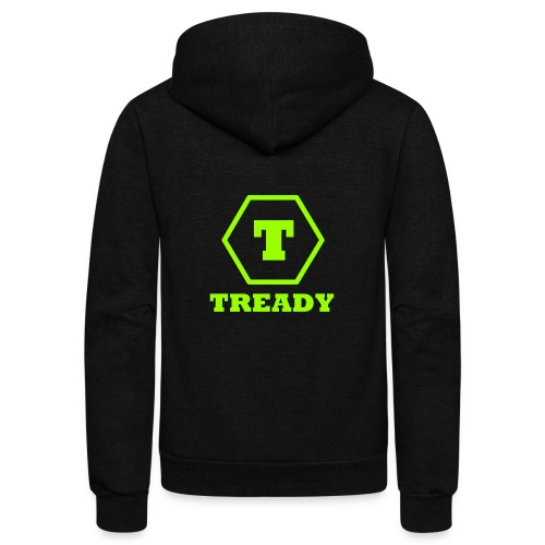 Tready - Unisex Fleece Zip Hoodie