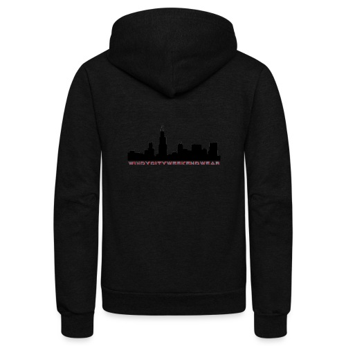 City Box Logo - Unisex Fleece Zip Hoodie