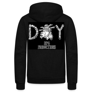 DIY RPG Productions Demon Metal - Unisex Fleece Zip Hoodie by American Apparel