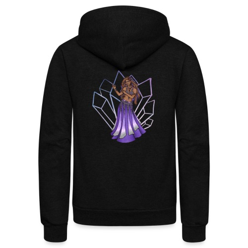 Belly Dancer - Unisex Fleece Zip Hoodie