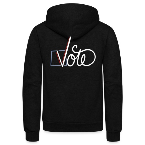 VOTE - Unisex Fleece Zip Hoodie