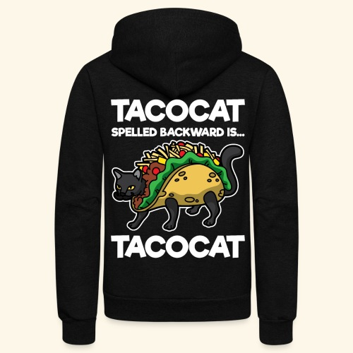 Tacocat is Tacocat - Unisex Fleece Zip Hoodie