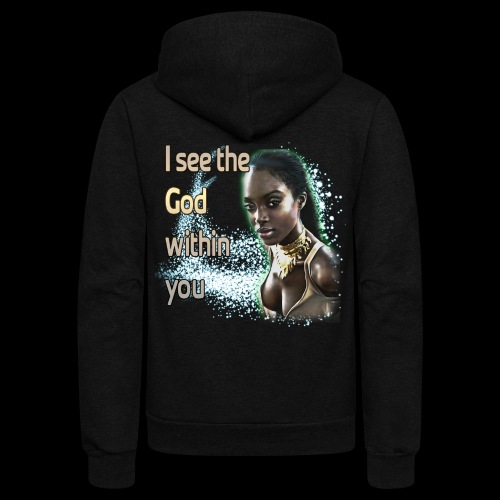 God Within You - Unisex Fleece Zip Hoodie