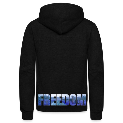 Freedom Photography Style - Unisex Fleece Zip Hoodie