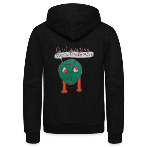 MetaTopolocoSisHead - Unisex Fleece Zip Hoodie