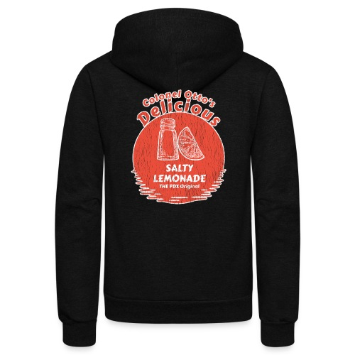 Salty Lemonade Vintage Red - Unisex Fleece Zip Hoodie