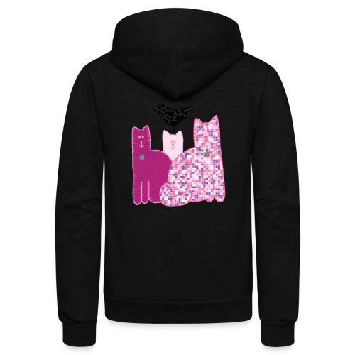 Miranda Sings Favorite Cats - Unisex Fleece Zip Hoodie