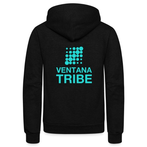 Ventana Tribe Official Logo - Unisex Fleece Zip Hoodie