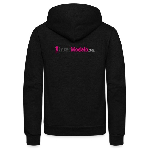 Intermodelo Color Logo - Unisex Fleece Zip Hoodie
