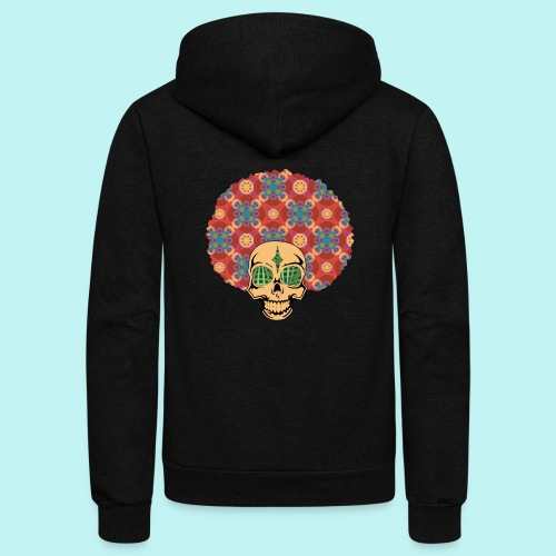 MACK DADDY SKULLY - Unisex Fleece Zip Hoodie