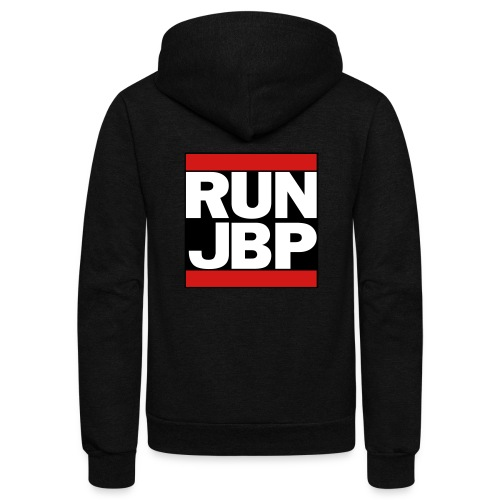 RUN JBP - Unisex Fleece Zip Hoodie