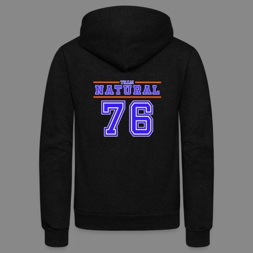 Team Natural 76 - Unisex Fleece Zip Hoodie