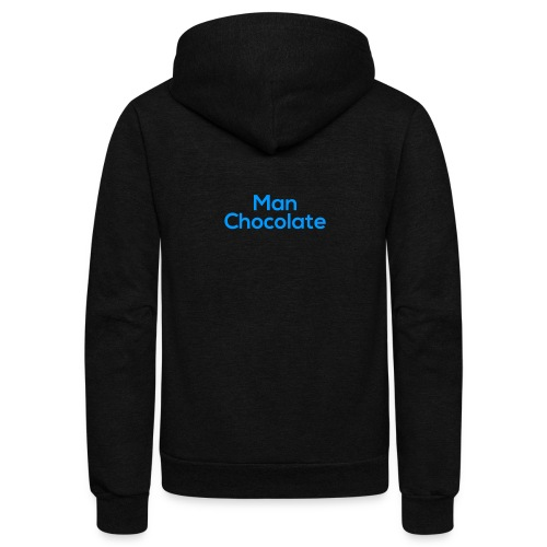 Man Chocolate - Unisex Fleece Zip Hoodie