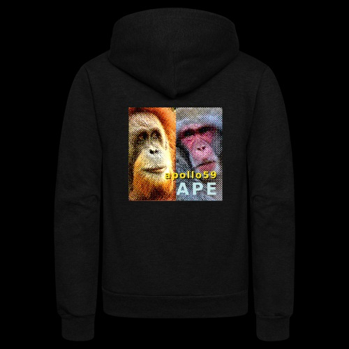 APE - Apollo59 Cover Art - Unisex Fleece Zip Hoodie