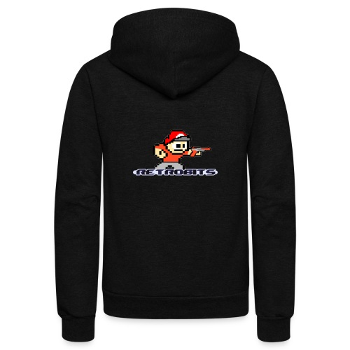 RetroBits Clothing - Unisex Fleece Zip Hoodie