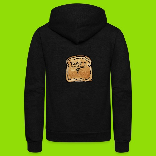 Toasty - Unisex Fleece Zip Hoodie