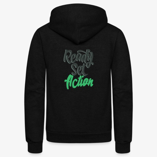 Ready.Set.Action! - Unisex Fleece Zip Hoodie