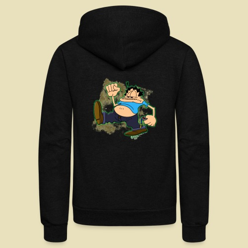 Ongher's UFO Ongher March - Unisex Fleece Zip Hoodie