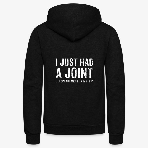 JOINT HIP REPLACEMENT FUNNY SHIRT - Unisex Fleece Zip Hoodie
