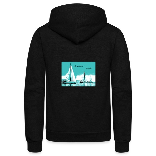 Beautiful Croatia - Unisex Fleece Zip Hoodie