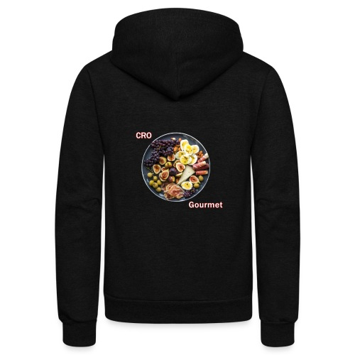 Croatian Gourmet - Unisex Fleece Zip Hoodie
