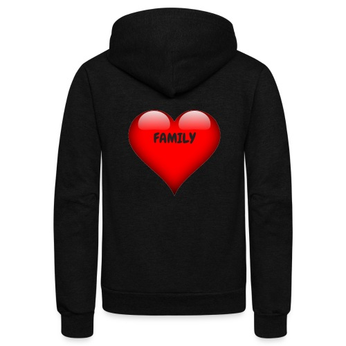 Love Family - Unisex Fleece Zip Hoodie