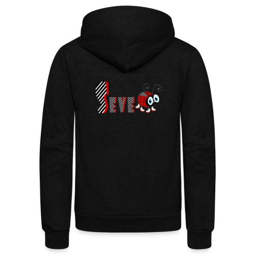 7nd Year Family Ladybug T-Shirts Gifts Daughter - Unisex Fleece Zip Hoodie