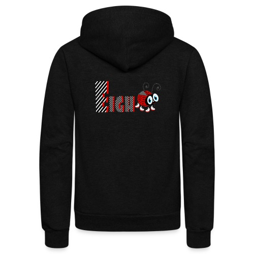 8nd Year Family Ladybug T-Shirts Gifts Daughter - Unisex Fleece Zip Hoodie