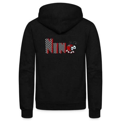 9nd Year Family Ladybug T-Shirts Gifts Daughter - Unisex Fleece Zip Hoodie