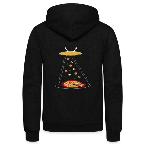 Pizza Funny Ovni - Unisex Fleece Zip Hoodie