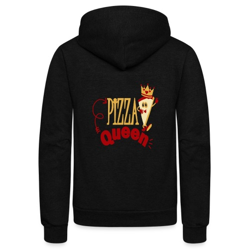 Pizza Queen - Unisex Fleece Zip Hoodie