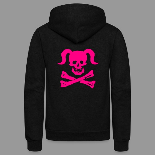 Dirty Girly - Unisex Fleece Zip Hoodie