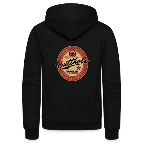 Nut-Hong's Colonics - Unisex Fleece Zip Hoodie