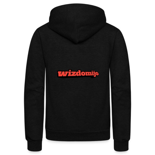 Wizdomijo big sighn - Unisex Fleece Zip Hoodie