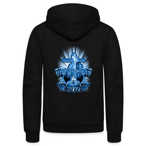 Sacred by RollinLow - Unisex Fleece Zip Hoodie