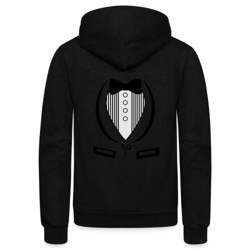 Suit Shirt - Unisex Fleece Zip Hoodie
