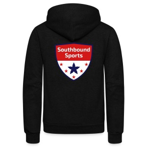 Southbound Sports Crest Logo - Unisex Fleece Zip Hoodie