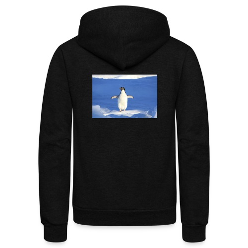 Mr. Penguin - Unisex Fleece Zip Hoodie