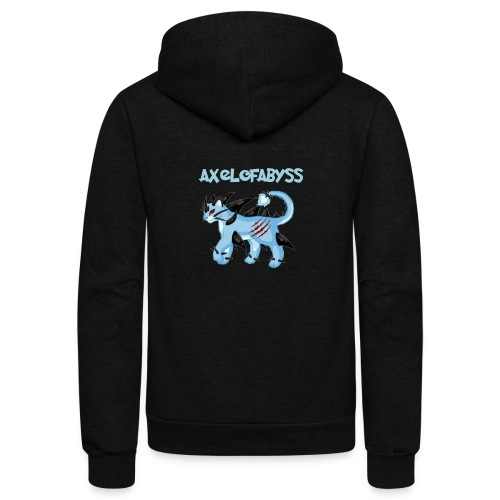 axelofabyss pocket monster - Unisex Fleece Zip Hoodie