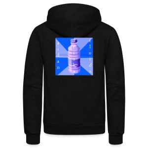 Aidan Drinks Fluids Logo - Unisex Fleece Zip Hoodie