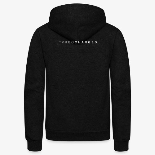 TVRBOCHARGED LOGO - Unisex Fleece Zip Hoodie