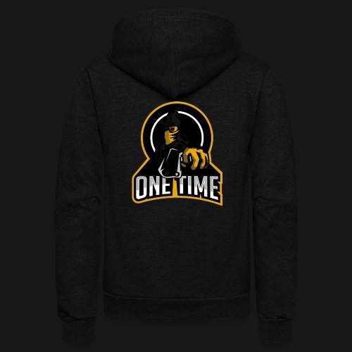 OneTime Gaming Logo - Unisex Fleece Zip Hoodie